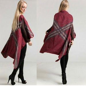 💖Plaid Jacquard Knit Vest